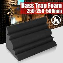 250x250x500mm Acoustic Bass Trap Acoustic Foam For Corner Wall Soundproof Sponge Studio Room Absorption Tiles Foam(China)