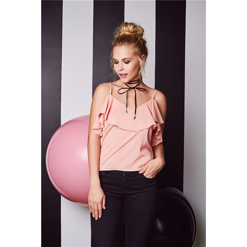 Top C.H.I.C female CHIC racer front chic lace up slit women s cami top