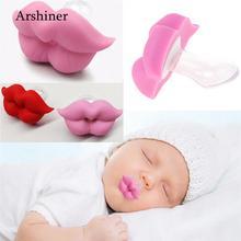 Повседневная силиконовая соска унисекс для новорожденных; милая детская соска для губ; детская соска для губ
