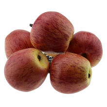 Gresorth 6pcs Artificial Red Apple Decoration Fake Fruit Home Party Holiday Decorative Food Toy Model
