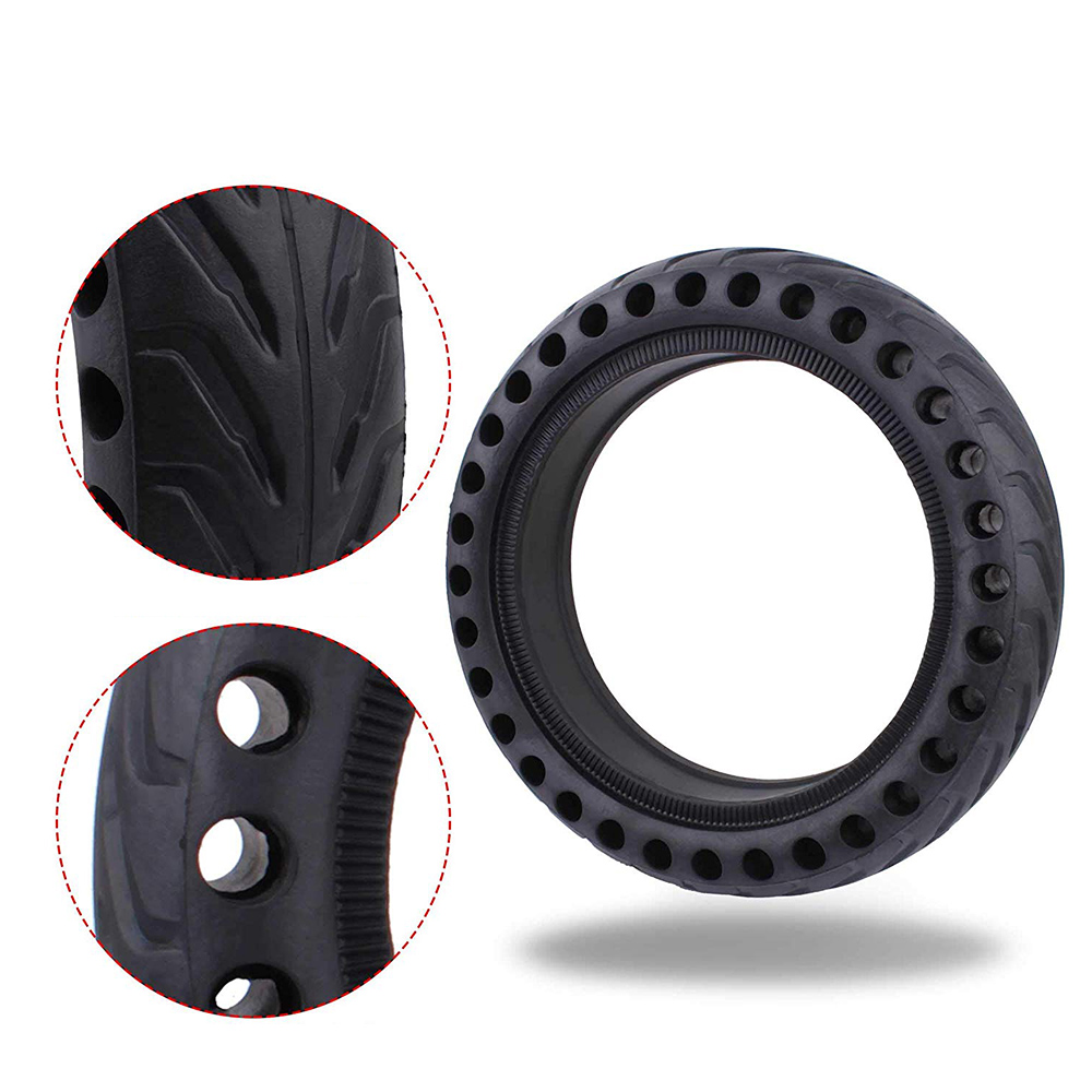 Hollow Tire for Xiaomi Mijia M365 Electric Scooter Shock Absorber Solid Rubber Tires for Xiaomi M365 Pro Front Rear Whee Tyre