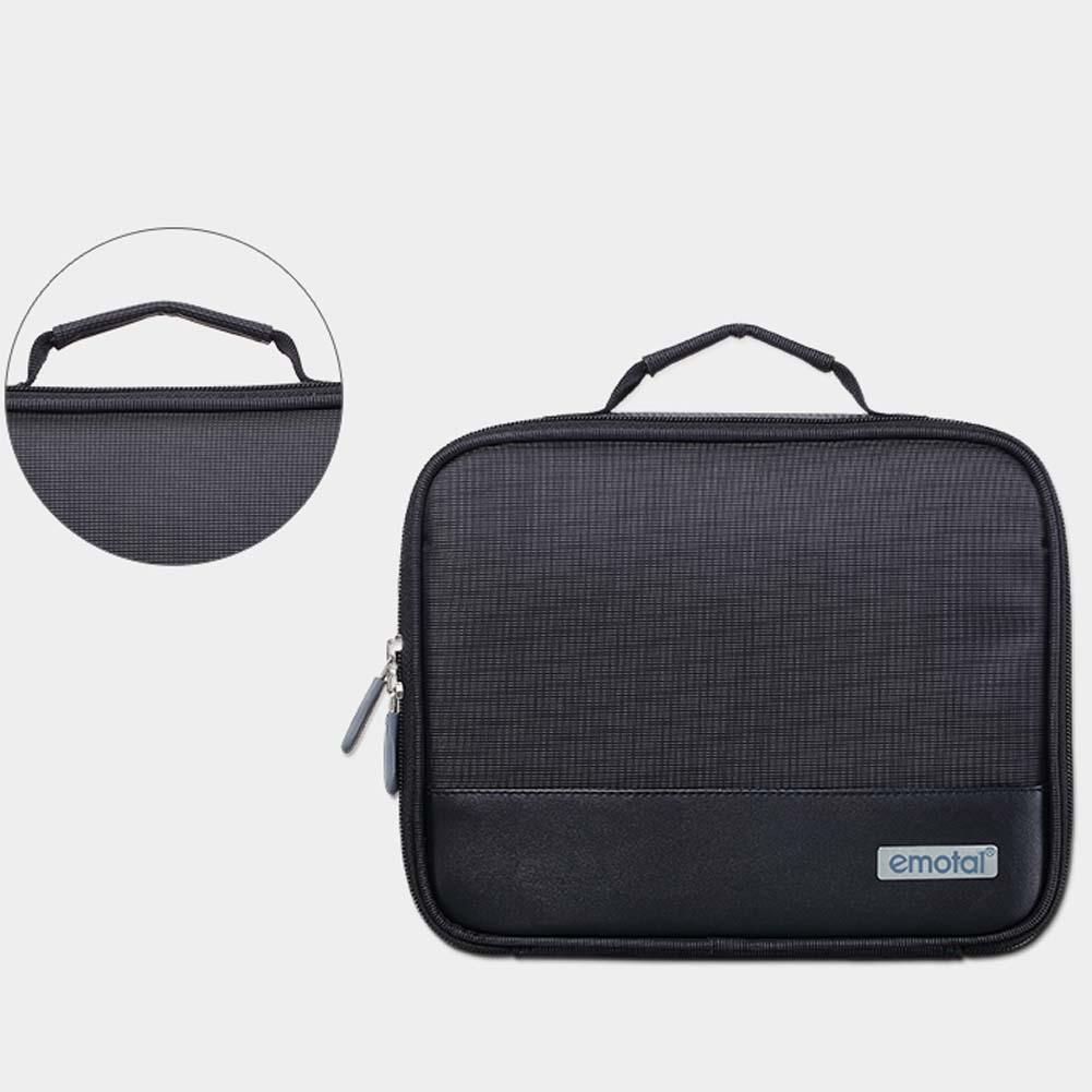 Electronic Accessories Cable USB Drive Organizer Bag Travel Insert Case Black