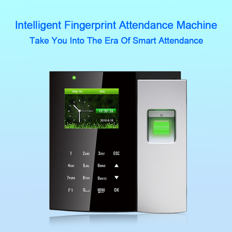 OULET Biometric Time Attendance System USB Fingerprint Punch Card Time Clock Access Control Office Recorder Employees Device    OULET Biometric Time Attendance System USB Fingerprint Punch Card Time Clock Access Control Office Recorder Employees Device
