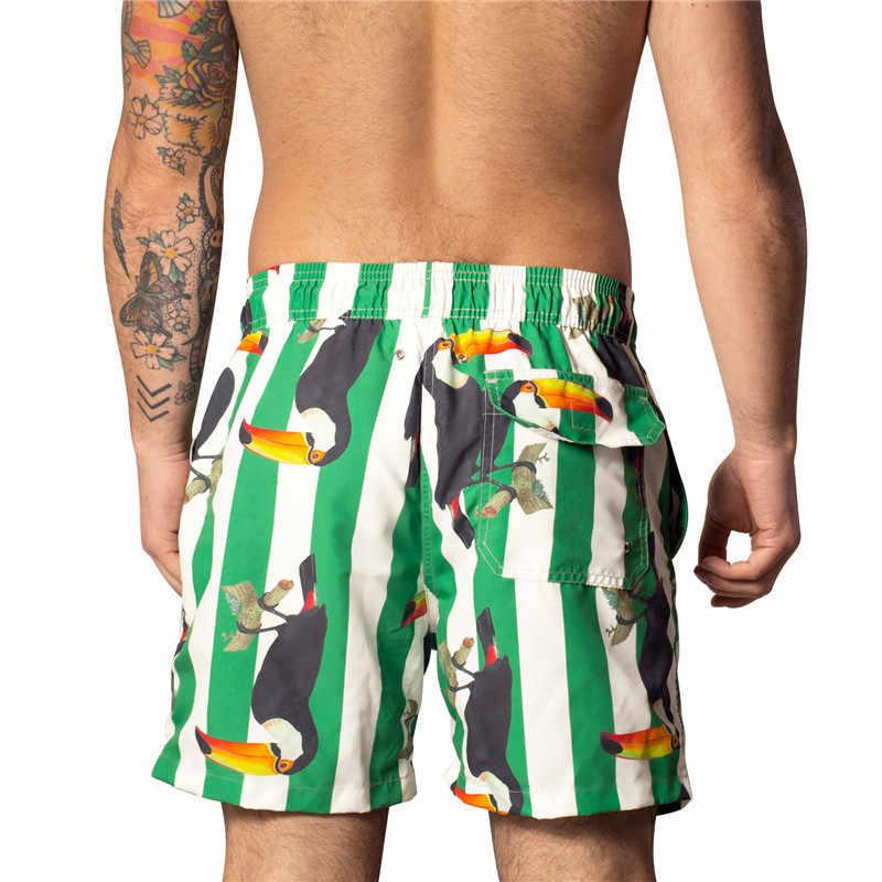 e1cab8a7f2e8c ... Fashion Family Matching Swimsuit Mom Girls One-piece Swimwear Men Boys Swim  Trunks Striped Print ...