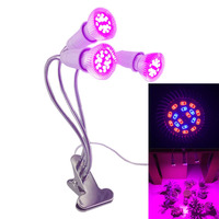 3 head 18 led led grow light for indoor seeds grow tent growing lighting Room cultivo green house plant lamp Hydroponics Growbox