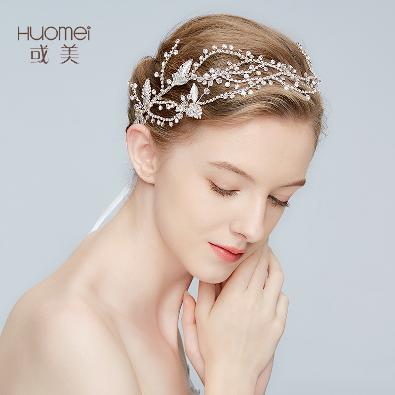 New Arrival Luxury Bride Silver Hairband Photography Accessories Crystal Headwear Wedding Dress Exquisite Jewelry Tiara D2150New Arrival Luxury Bride Silver Hairband Photography Accessories Crystal Headwear Wedding Dress Exquisite Jewelry Tiara D2150