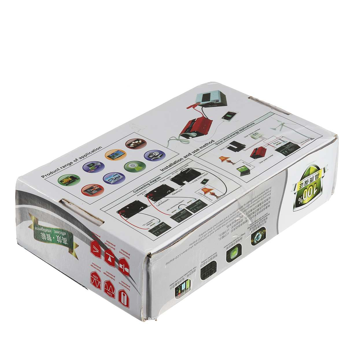 KROAK SDB-600A 3000 W Power Inverter LCD Display DC 12/24 V zu AC 110 V/220 V modifizierte Sinus Welle Konverter