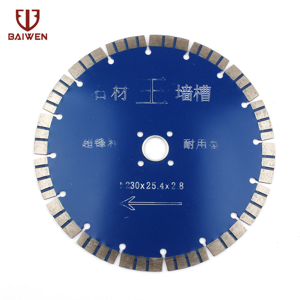 "9"" 230mm Diamond Saw Blade For Granite Marble Slab Rock Concrete Floor Tile and Masonry Dry Wet Cutting DiscSaw Blades   -"