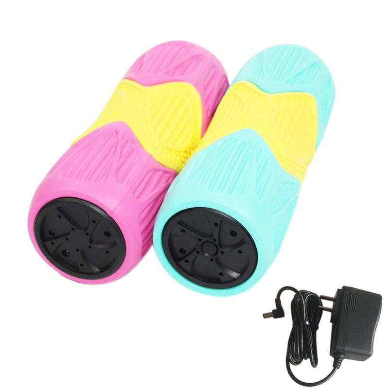 Rouleau de mousse de Massage musculaire vibrant exercices de libération Myofascial outils de gymnastique sportive