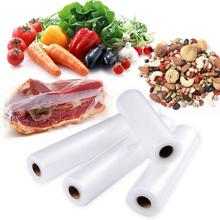 Kitchen Food Vacuum Bag Storage Saver Plastic Rool 4 Size Fresh Long Keeping For Household Packaging Machine