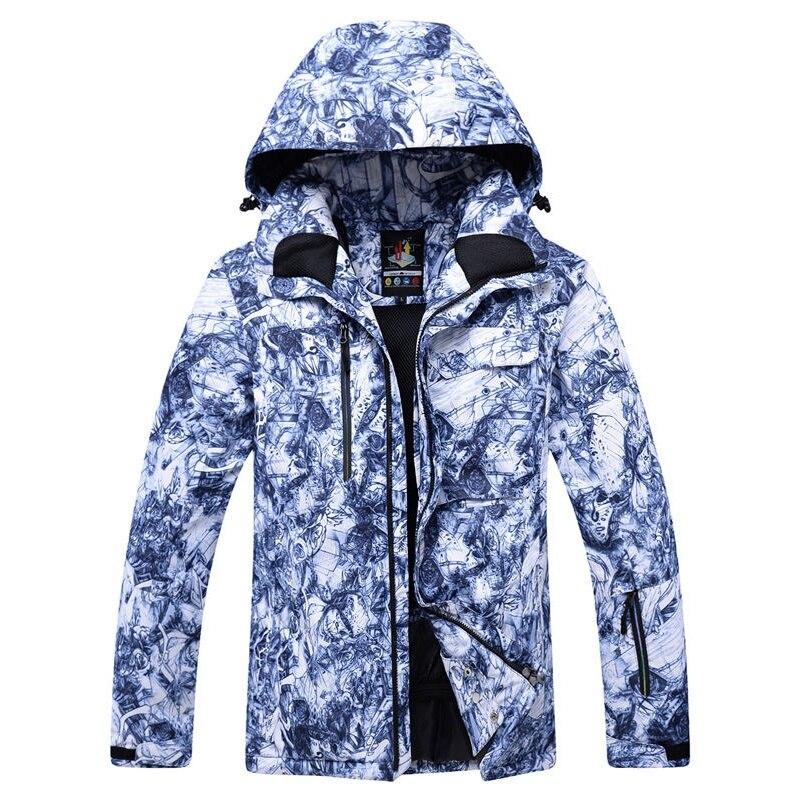 DSGS ARCTIC QUEEN -30 New Men Professional Snowboarding Jackets Skiing Clothing 10K Waterproof Windproof Winter Costumes Snow