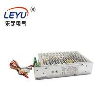 LEYU SCP-75 серии Мощность резервного копирования UPS 75W 12V 24V Универсальный адаптер переменного тока в постоянный ток Батарея Зарядное устройство Питание