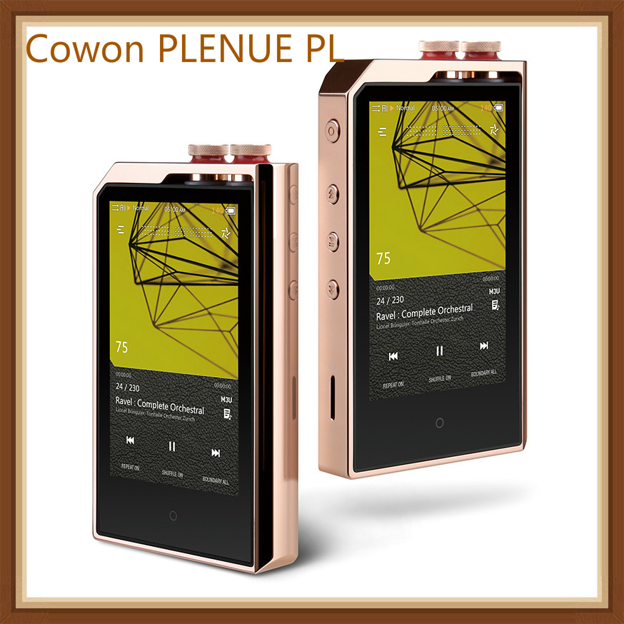 Cowon PLENUE PL Lossless 256GB 3.7' HIFI Music DSD256 USB DAC AI Audio Dual Core MP3 High Resolution  Portable Music Player MP3