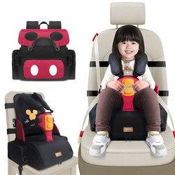 3 en 1 multifuncional resistente al agua para almacenamiento con adaptadores de correa de asiento infantil niños booster asientos silla de bebé portátil