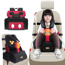 цена на 3 in1 baby high chair portable travel booster seat waterproof infant Mommy bag kids feeding eating safe chair storage function