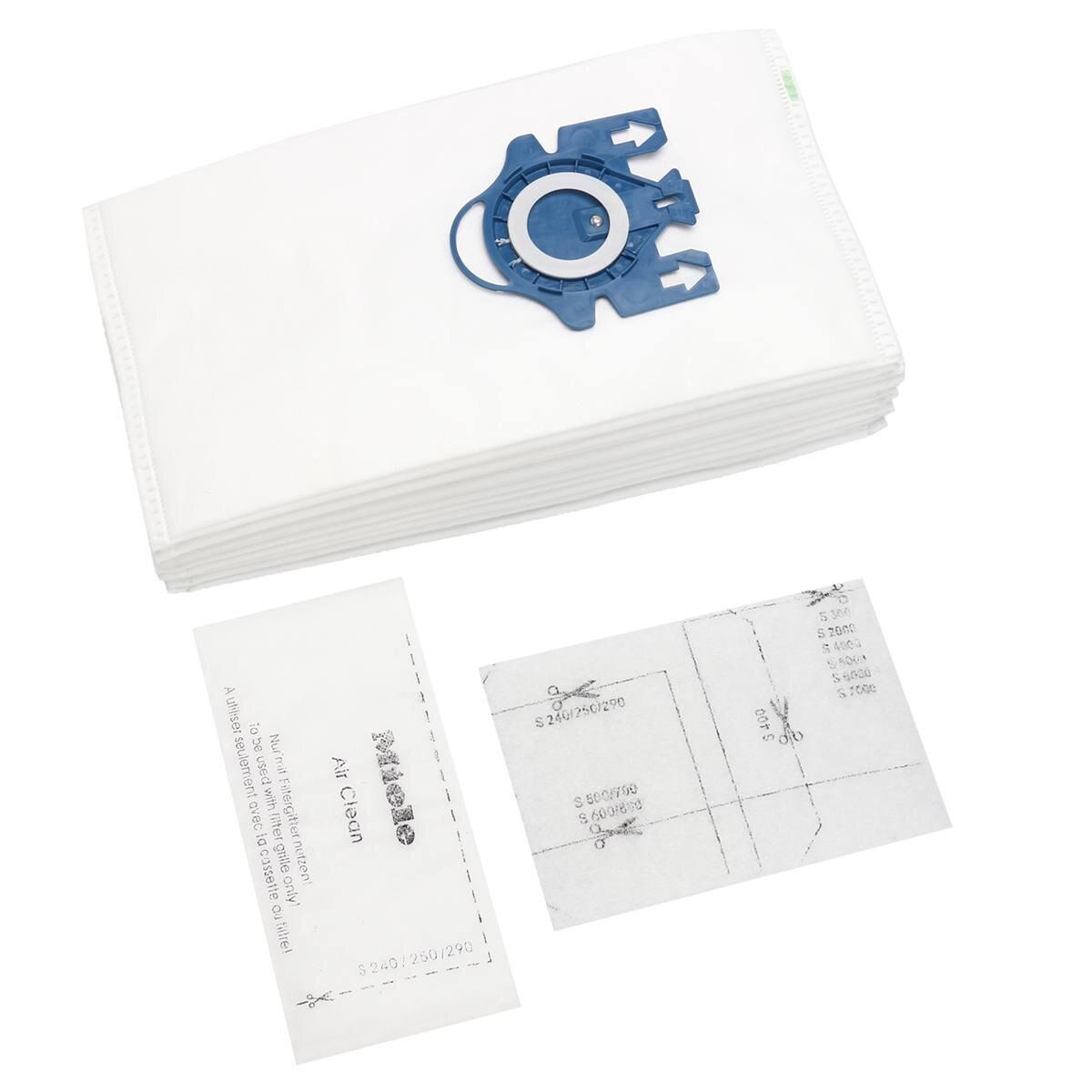 Compact 20 Staubsaugerbeutel für Miele S 8340 EcoLine Complete GN Typ FJM