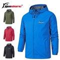 Queshark мужские и женские ветрозащитные водонепроницаемые куртки для альпинизма  велоспорта  ветровки для спорта на открытом воздухе