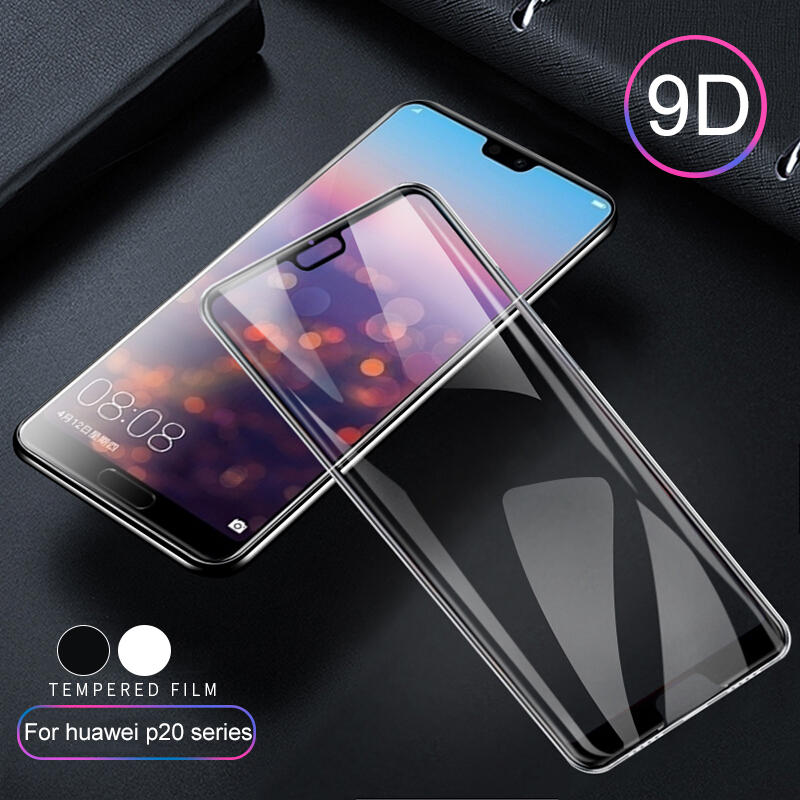 9D Tempered Glass For Huawei P20 Lite Pro Plus Protective Glas Hauwei P 20 P20lite P20pro 20pro Screen Protector Full Cover Film