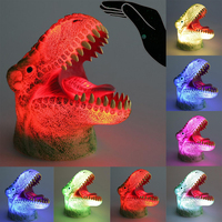 3D LED Night Lights Dinosaur 7 Colors Light Chang Atmosphere for Home Party Decoration Funny Whole Table Lamp Creative Gift