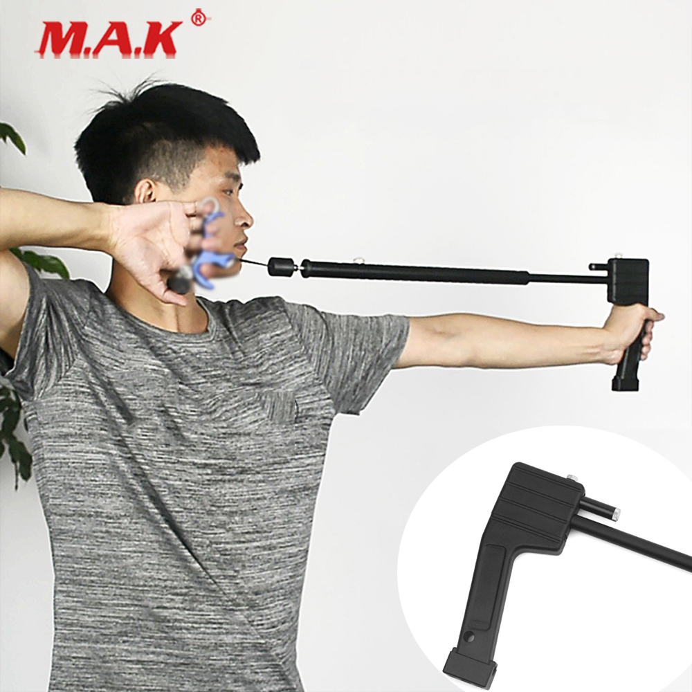 New 61.5x9x5cm Compound Bow Release as laser Release Trainer Holding Bow Stability fit Outdoor Hunting AccessoriesNew 61.5x9x5cm Compound Bow Release as laser Release Trainer Holding Bow Stability fit Outdoor Hunting Accessories