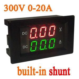 Image 1 - DC 0 300V 20A Shunt Dual display LED Digital Voltmeter Ammeter volt 12V 24V car