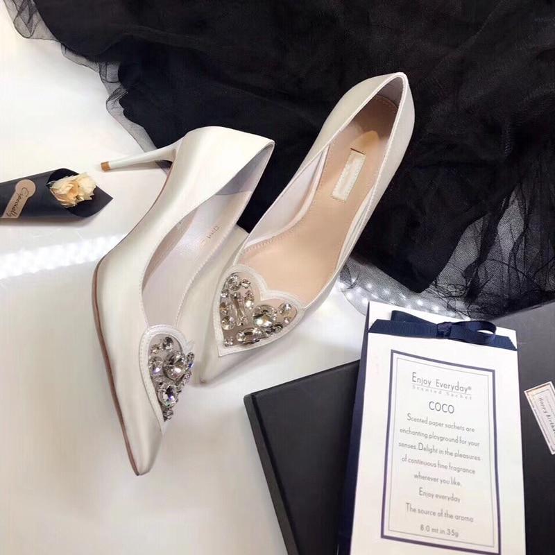 Donna As Pics Seta Estate Da Balletto Scarpe Calzature Femminile Di New A Pics Primavera Punta Pompe Makasins 2019 as Slipona D q5CRTn7w
