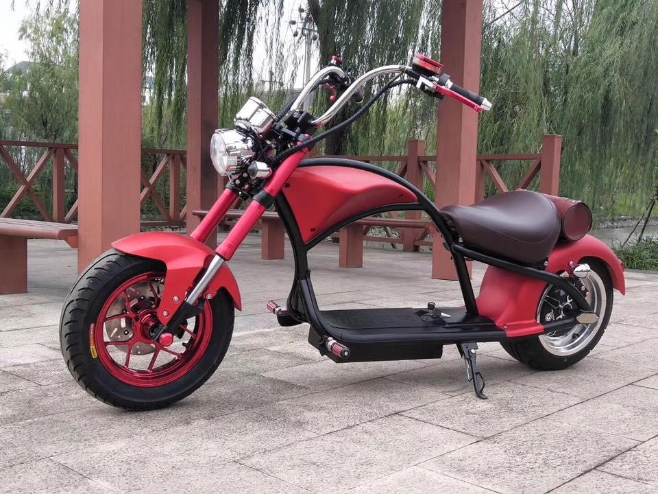 2019 COC/cee EUR Stock adulte moto électrique CityCoco 2000W 60V 20ah amovible batterie Scooter électrique intelligent