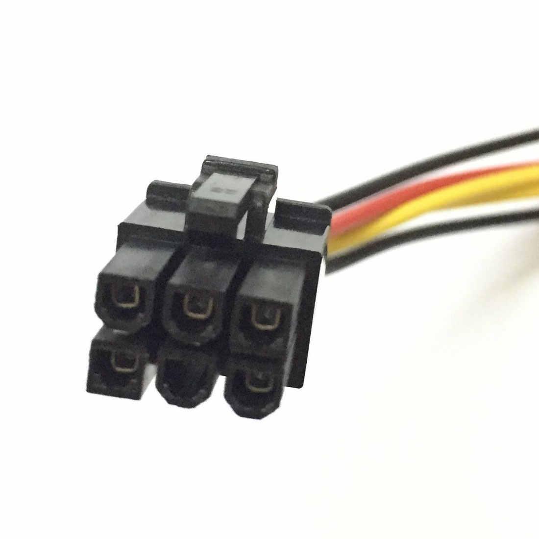 Centechia Новый высокое качество 4 Pin Molex до 6 Pin PCI-Express PCIE видео карта Мощность конвертер Кабель-адаптер 20 см