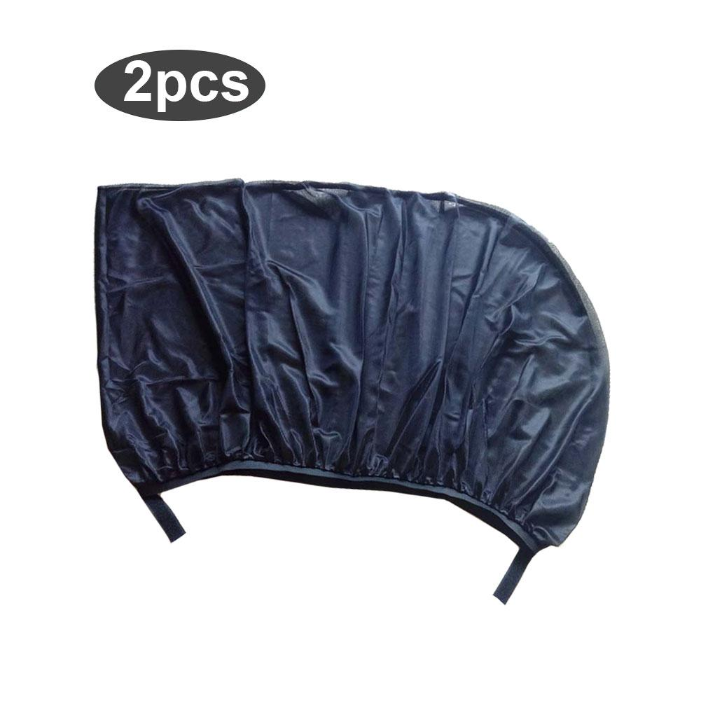 Image 2 - 1 Pair Car Side Window Sunshade Curtain Mesh Sun Heat Block SUV Special Mosquito Resistant Screen Window Car Accessories-in Side Window Sunshades from Automobiles & Motorcycles