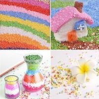 Colorful Styrofoam Foam Balls For Slime Party Decoration Beads For Kid's Handmade Slime Making Art Diy Crafts Home Decor 15 Bag