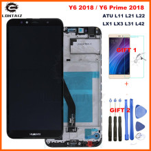 For Huawei Y6 2018 LCD Display Touch Screen Digitizer For Huawei 7A LCD ATU L11 L21 L22 LX1 LX3 L31 L42 Screen With Frame цена