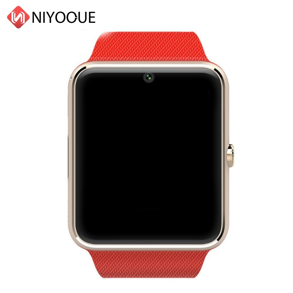 diseño de calidad 8e560 84c7d € 9.63 50% de DESCUENTO|Bluetooth Smartwatch GT08 Reloj Inteligente para  IPhone 8 Plus X Samsung S9 Nota 9 Xiaomi Android teléfonos Reloj ...
