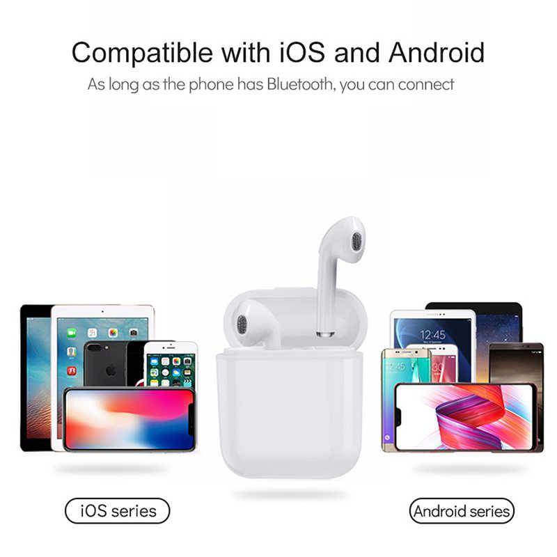 0837cf63132 ... I9S TWS Air pods Wireless Bluetooth Earphone Earbuds Stereo Headset For iPhone  6 7 8 SE ...