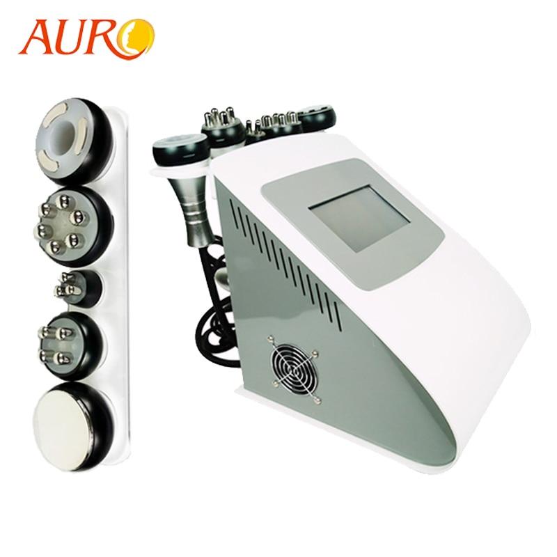 AURO 2019 New Technology 5 in 1 Vacuum Lipo Ultrasonic Cavitation RF Slimming Machine Best Sellers