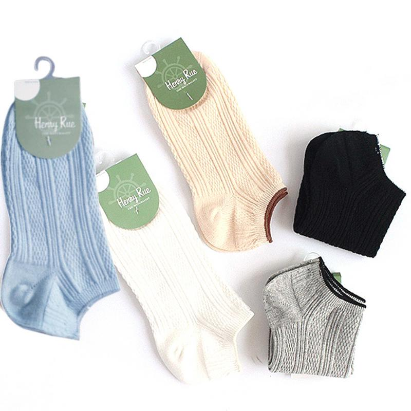 2 Pairs Comfortable Casual Cotton Girl Women's Socks Ankle Low Female Invisible Color Girl Boy Hosiery Ladies Boat Sock Slipper