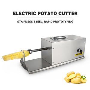 ITOP Potato-Slicer Electric with Counter Vegetable Fruit-Cutter DIY Twisted Spiral Commercial