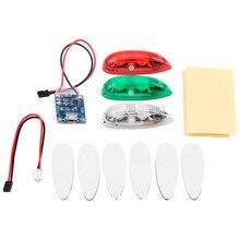 RC Drone LED Light 3pcs/set Drone Flash LED Wireless Light f