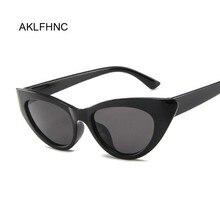 09e3a16c3 فراشة الأسود القط العين النظارات الشمسية المرأة العلامة التجارية مصمم الأزرق  نظارات شمس أنيقة للنساء العصرية ملون اللون الظل UV4.