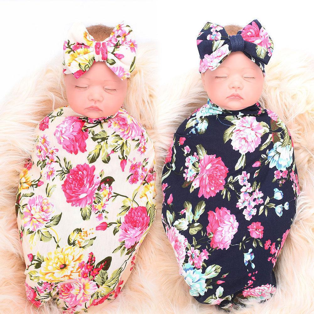 2019 Pudcoco Newborn Baby Girl Receiving Swaddle Blanket ...