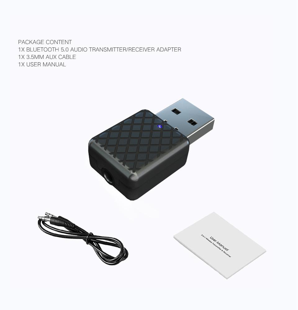 Unterhaltungselektronik Erfinderisch Ostart Mini 3,5mm Aux Bluetooth 5,0 Sender Empfänger Stereo Drahtlose Bluetooth Adapter Für Auto Musik Bluetooth Sender Warmes Lob Von Kunden Zu Gewinnen Tragbares Audio & Video