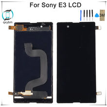 4.5 Inch Display for SONY Xpeira E3 LCD Touch Screen Digitizer for SONY Xperia E3 Display LCD D2203 D2243(China)