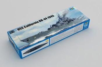 Trumpeter 05784 1/700 USS H.M.Ship California BB-44 1945 Model Static Kit Toy