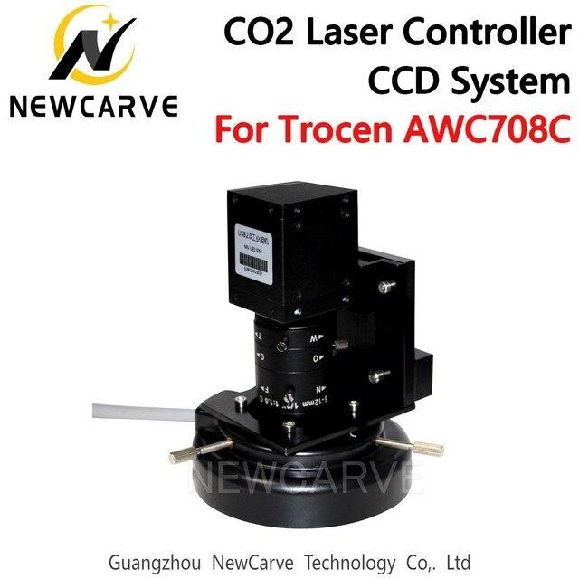 Trocen Sistema Visual CCD para AWC708C Lite CO2, controlador láser DSP, sistema de dispositivo acoplado de carga, Newcarve