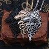 Collier pendentif loup pendentif  2