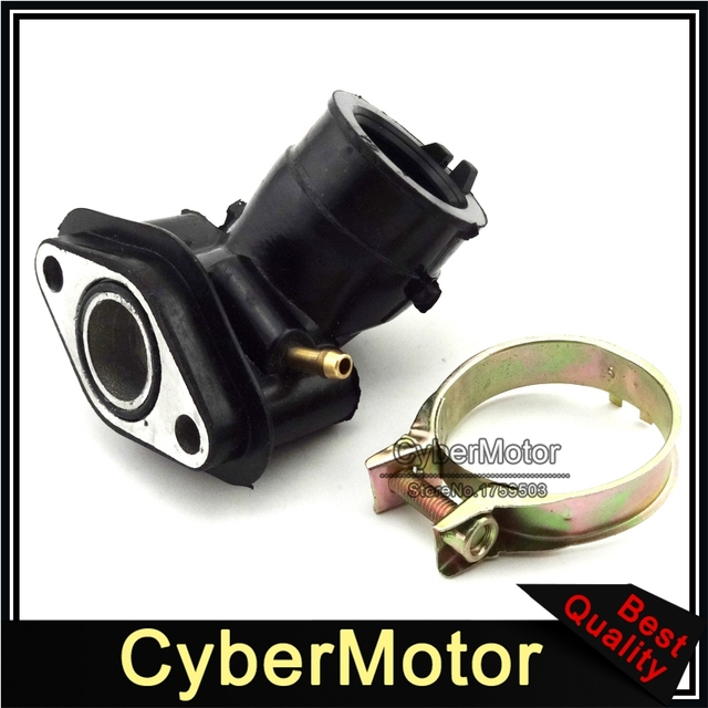 Intake Manifold Einlass Rohr Für GY6 50cc Motor Carb SUNL Baotian Znen Jmstar Chinesische Moped Roller