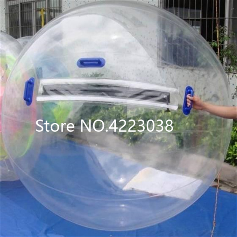 Free Shipping TPU 1 0mm 2 0m fun entertainment water ball inflatable water walking ball Zorb