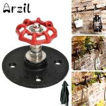 Accesorios de baño ganchos de pared Perchero de Metal sombrero vintage industrial pipa Interior perchero decorativo
