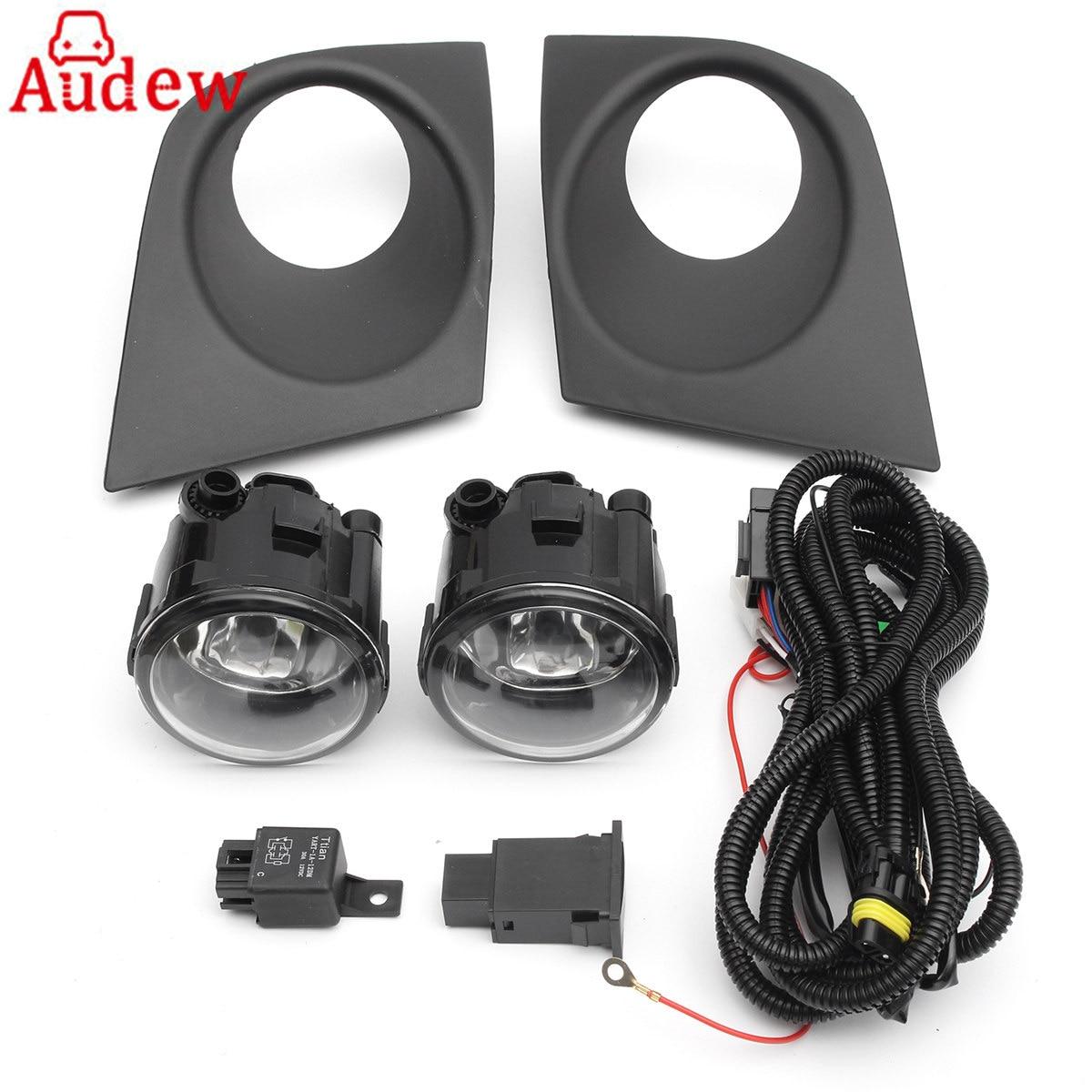 4 Wired Fog Light Switch For Nissan Tiida  //Micra //Almera //Versa