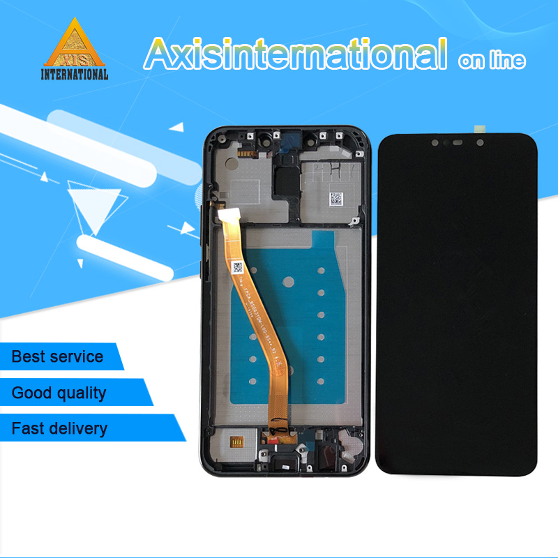 Original Axisinternational For Huawei Mate 20 Lite LCD Screen Display With Frame Touch Panel Digitizer For