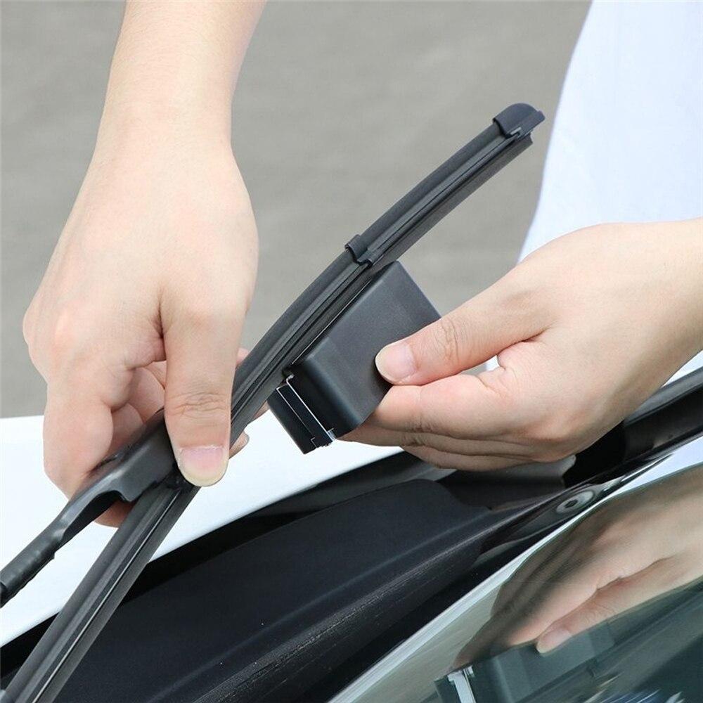 Universel Auto voiture véhicule essuie-glaces outil de réparation Auto bande rayure lame restaurateur pare-brise essuie-glace remise à neuf outil moteur